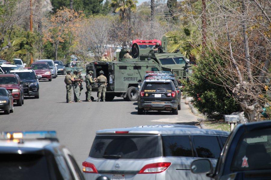 Suspect found dead inside Perris home 3/21/21