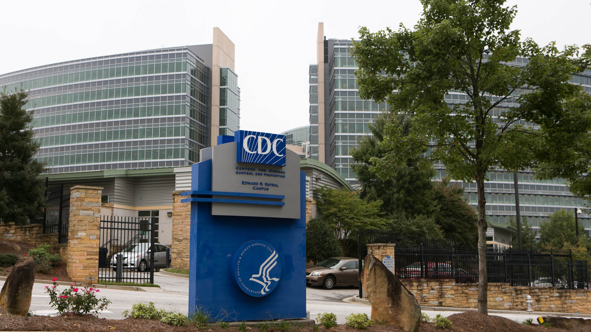 A file photo of the CDC. (Photo by Jessica McGowan/Getty Images)