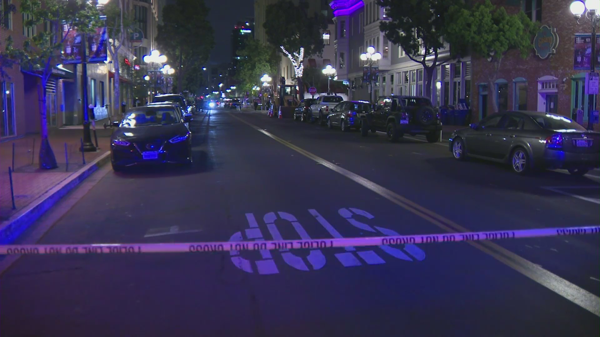 A fatal shooting was reported in downtown San Diego on April 22, 2021.