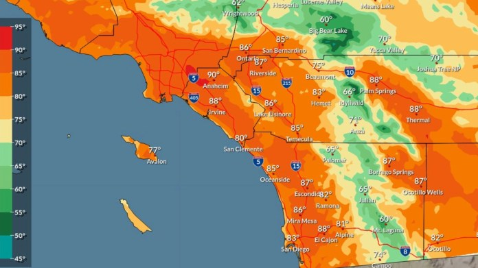Watch SoCal headed for heat up, fireplace climate after some areas hit report low temps – KTLA 5 California information