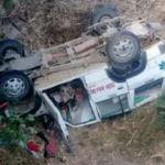 बुटवलबाट काठमाण्डौ आउँदै गरेको जीप धादिङमा दुर्घटना