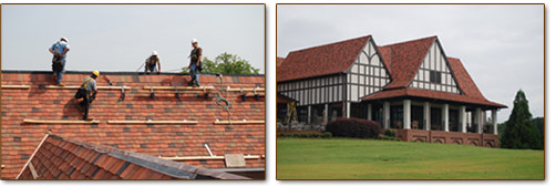 East Lake Golf Club Tile Roof Installation