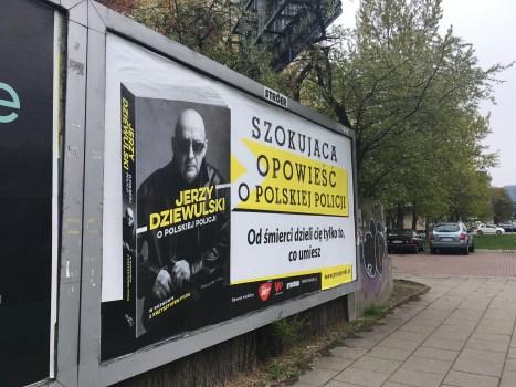 """""""Jerzy Dziewulski o polskiej policji"""" już w księgarniach i w Empikach!"""