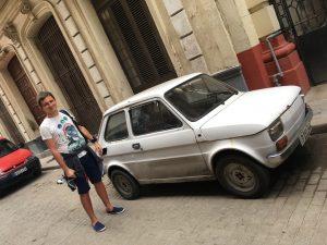 Maluch, czyli Fiat 126p na Kubie