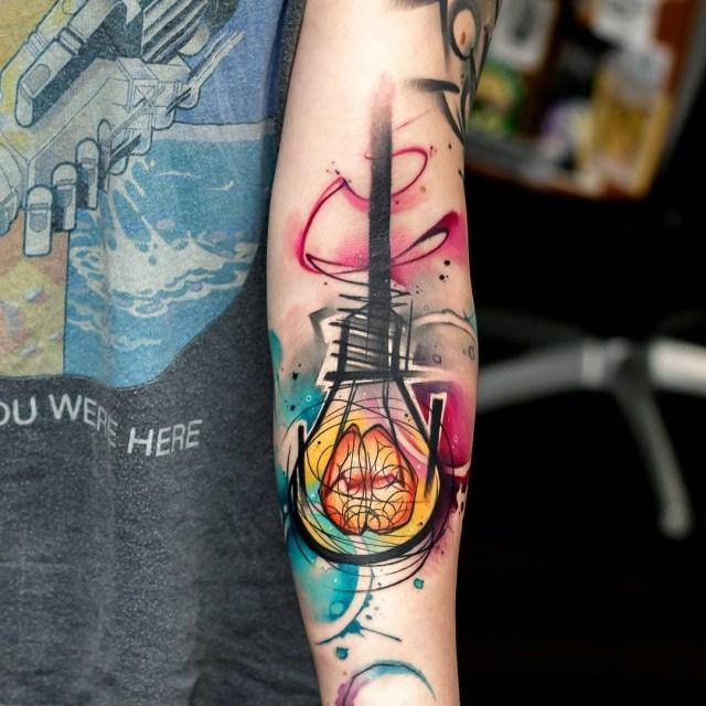 Królowie Tatuaży Watercolour Kto Się Nie Dziara Ten Fujara