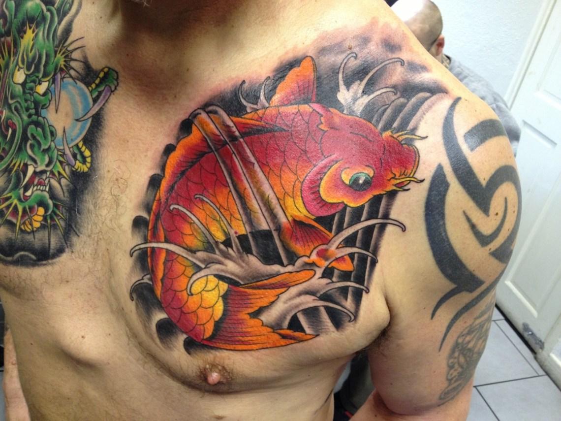 Fantastyczne Tatuaże Ryby Kto Się Nie Dziara Ten Fujara