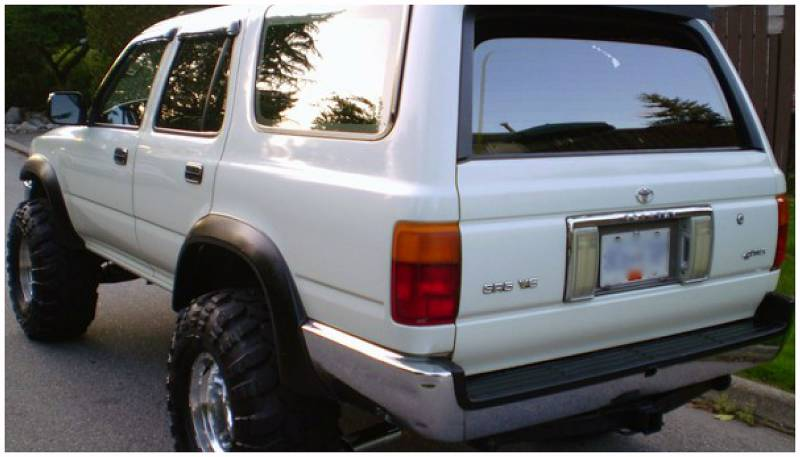 Bushwacker Fender Flares Toyota 95 4runner Set Of 4