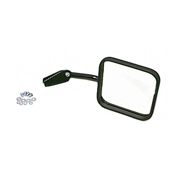 Mirror Head Arm with Convex Mirror, Right Side; 55-86 Jeep