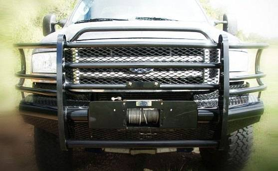 Tough Country Custom Traditional Front Bumper Ford 2005
