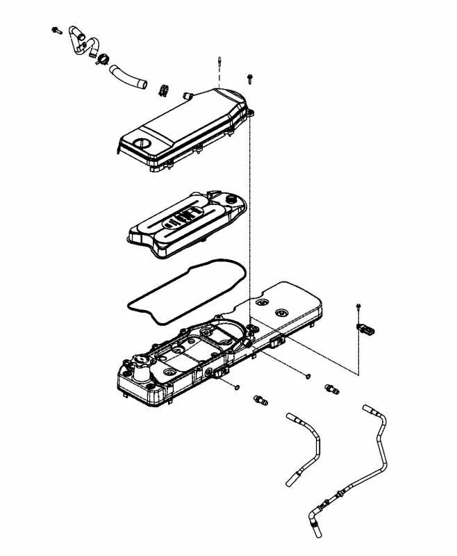 BD DIesel Crank Case Vent Filter, 6.7L Cummins