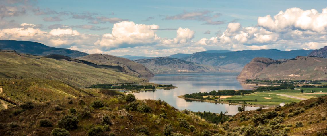 Kamloops Lake - Battle Bluff - Tranquille