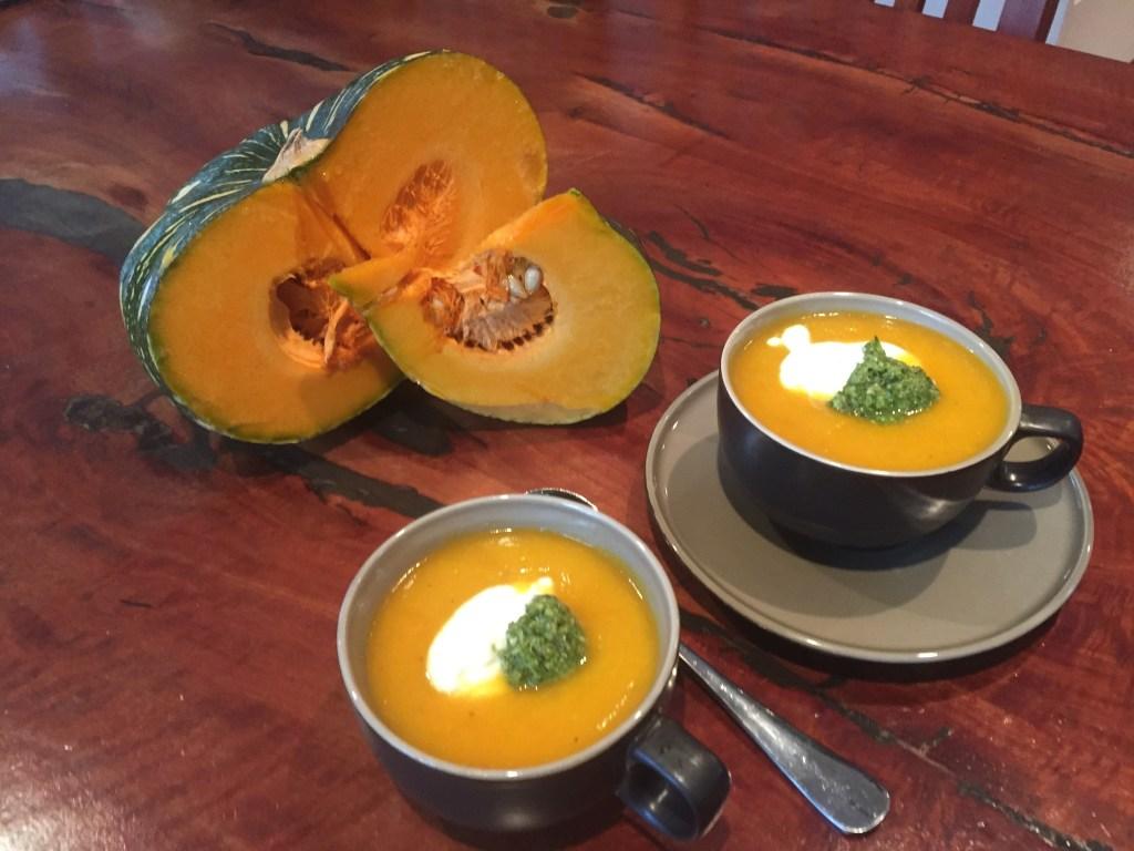 pumpkin soup bone broth