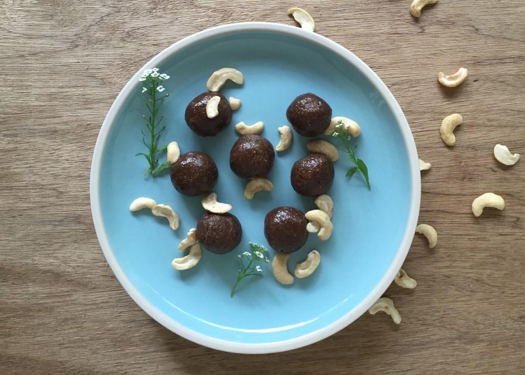 gluten free dairy free carob bliss balls