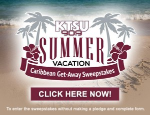 KTSU Summer Vacation Sweepstakes