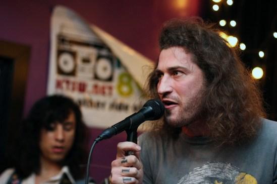 Lead singer, Joe Sterling. Photo by Madison Tyson.