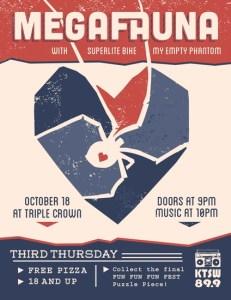 Flyer for Third Thursday