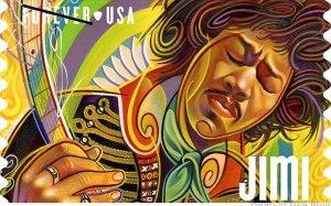 USPS Jimi Forever stamp