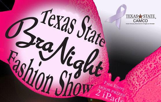 Texas State Bra Night Flyer