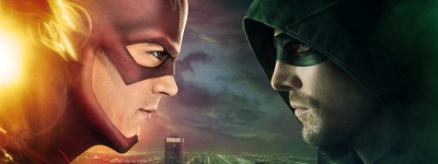 Flash and Arrow crossover poster. Photo courtesy by IGN