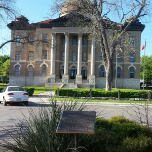 San Marcos Courthouse.