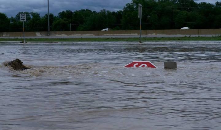 Memorial weekend flood. San Marcos.