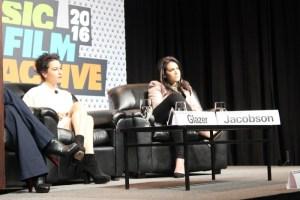 Llana Glazer and Abbi Jacobson at SXSW Interactive. Photo by Travis Tyler