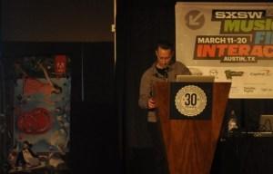 Caponi at SXSW Interactive. Photo by Allison Belcher