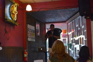 David Shabani performs at Valentino's during MR Fest. Photo by Andrew Jasmine.