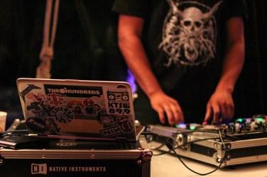 Each performer was accompanied by KTSW DJ, DeMarcus Cobb.