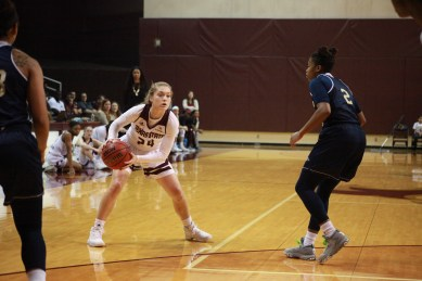 Brooke Holle enjoyed a breakout sophomore season; Photo Credited to Justin Manor