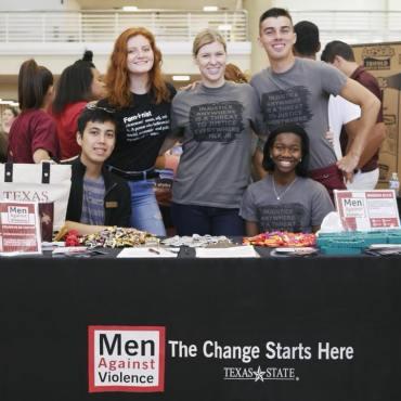 Members of Men Against Violence join KTSW to celebrate International Men's Day