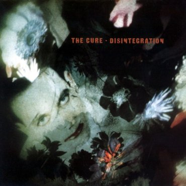 The album cover is holographic picture of Robert Smith surrounded by the shadows of flowers