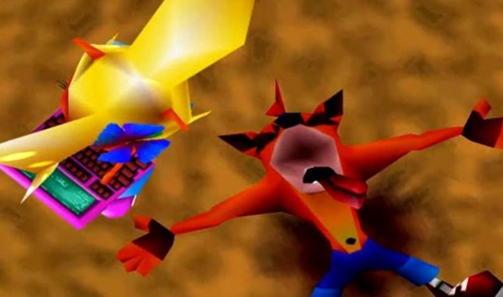 Crash and Coco from Crash Bandicoot 2: Cortex Strikes Back.