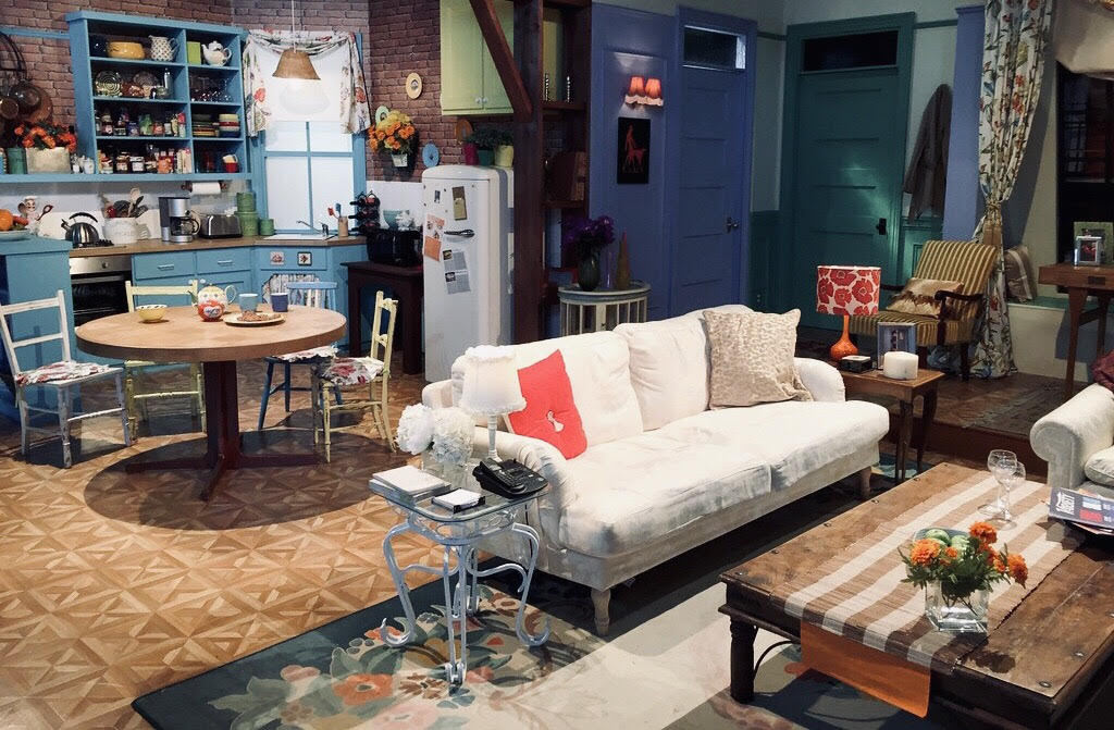 Monica Gellar's apartment (kitchen and living room) from the tv show Friends.