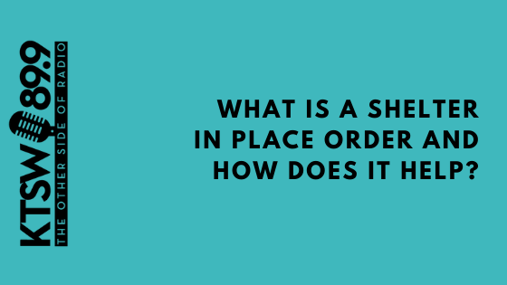 What does a shelter in place order mean