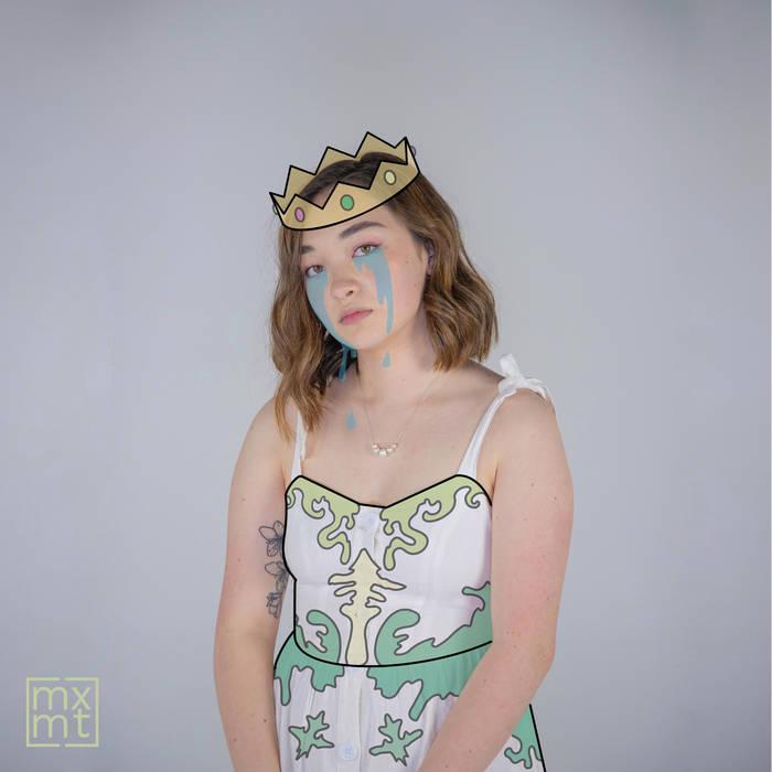 "Mxmtoon's TikTok-famous single, ""Prom Dress."" Image retrieved from mxmtoon."