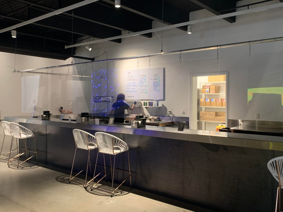 The cafe at Wonderspaces