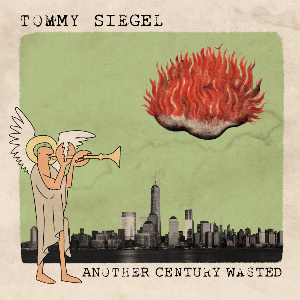 Tommy Siegel's album cover.