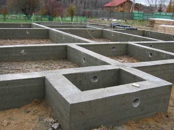 фундамент под коттедж Мурманск