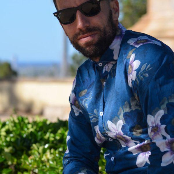 Camisa estampado floral lola