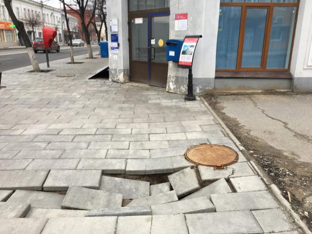 В Сызрани объяснили провалы плитки после масштабного ремонта Советcкой