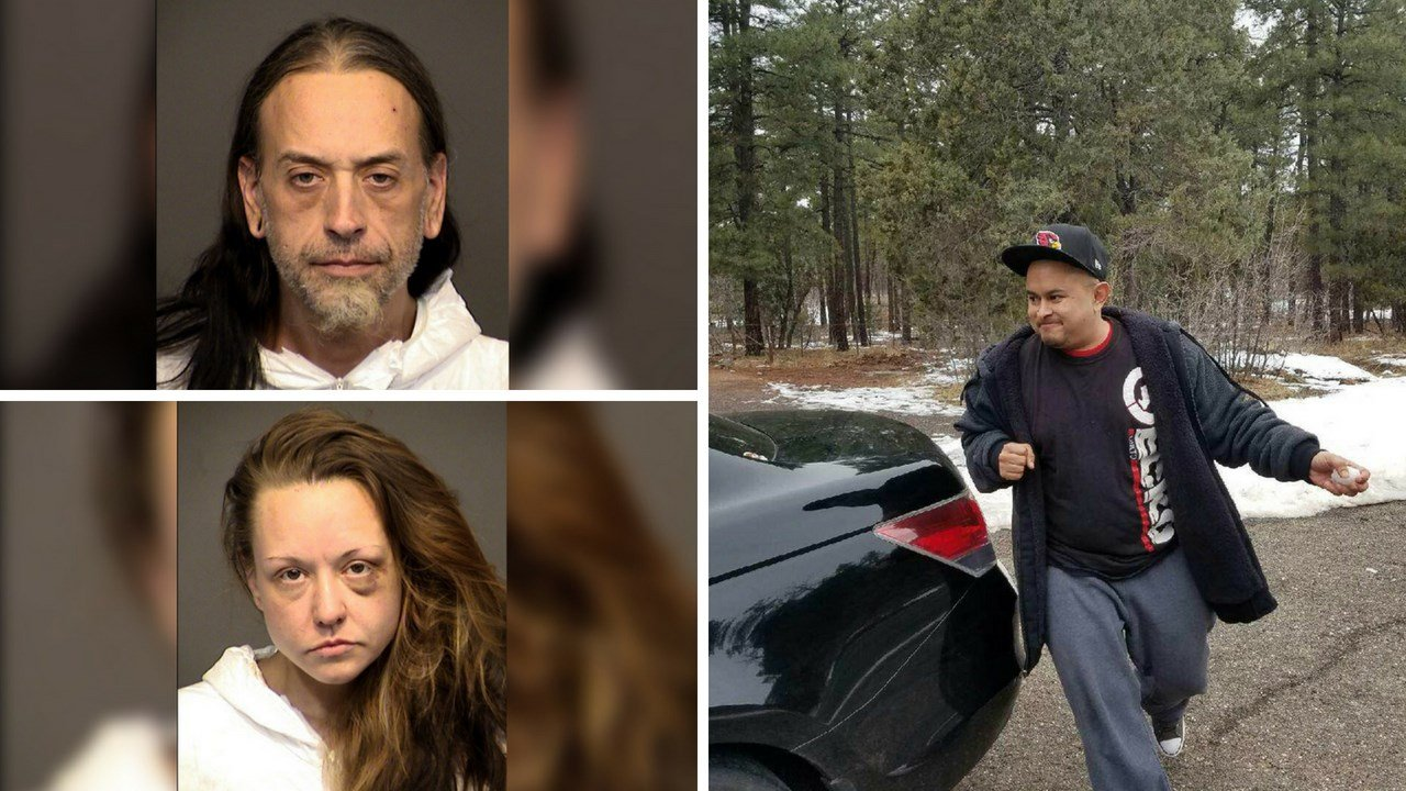 PD 2 arrested after traffic stop leads authorities to body in S  Arizonas Family