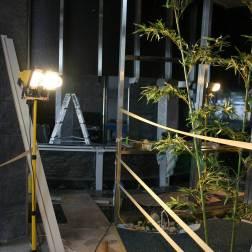 造園工事も弊社協力会社の職人が現地で施工