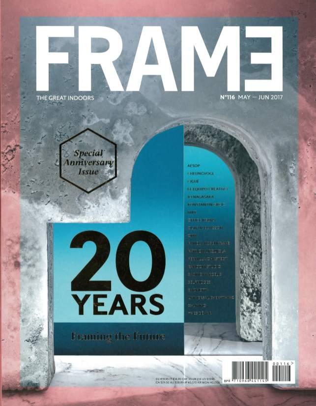 FRAME20周年記念号表紙