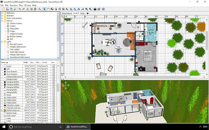Free software download for olderv versions of windows, osx, linux. Sweet Home 3d Download