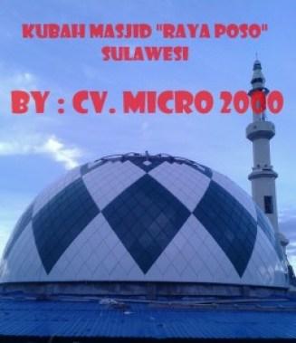 Kubah Masjid Raya Poso