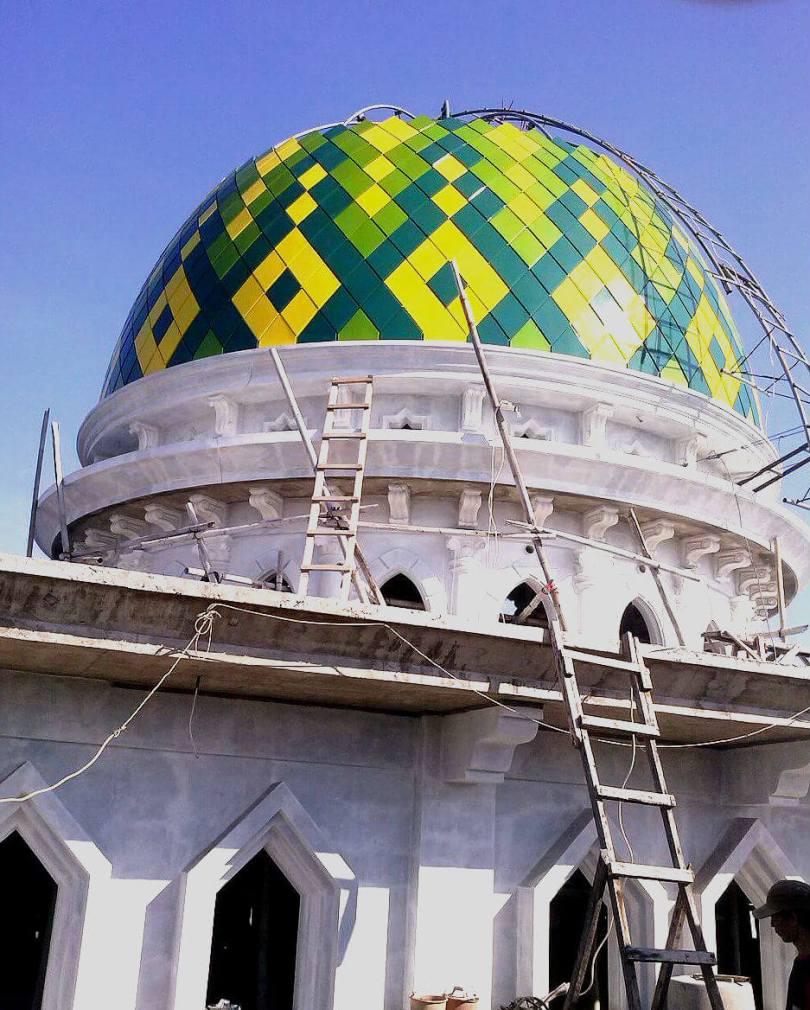 Kubah Masjid Baitul Muttaqin