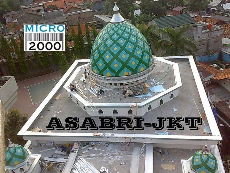 Cari Kubah Masjid Enamel di Jakarta Timur Hub 0818-381781, 0812-34855844