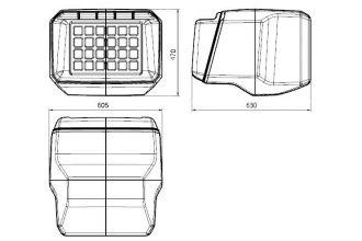 Кофр PZ 40 пластиковый HDPE для Polaris Wide Trak LX