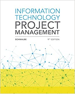 Information Technology Project Management Schwalbe, Kathy 9781337101356